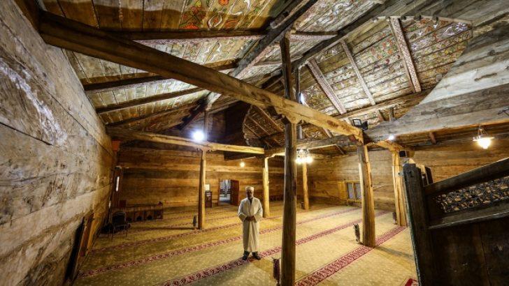 Bu Cami Sekiz asırdır çivisiz ayakta duruyor