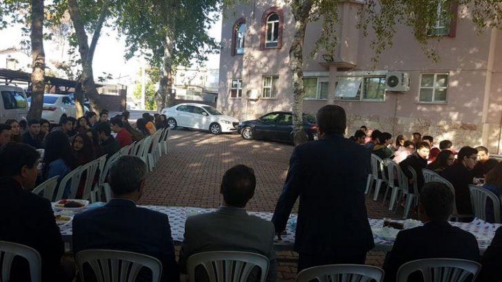Antalya Müftülüğü Lise Öğrencileri ile Kahvaltı Programı