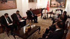 Balkan ülkeleri Diyanet İşleri Başkanlarından Diyanet'e ziyaret…