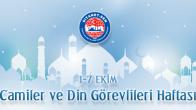 Bayraktutar Camiler ve Din Görevlileri Haftası'nı Kutladı
