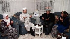 Diyanet İşleri Başkanı Erbaş, Kahramankazan'da, 15 Temmuz şehitlerinin ailelerini ziyaret etti…