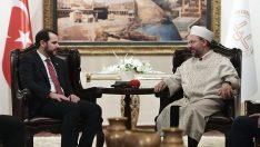 Enerji ve Tabii Kaynaklar Bakanı'ndan Diyanet'e ziyaret…
