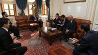 Tacikistan Baş Müftüsü, İstanbul Müftüsü Yılmaz'ı Ziyaret Etti