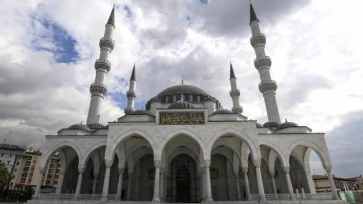 Ulus İtfaiye Meydanı Camisi açılıyor