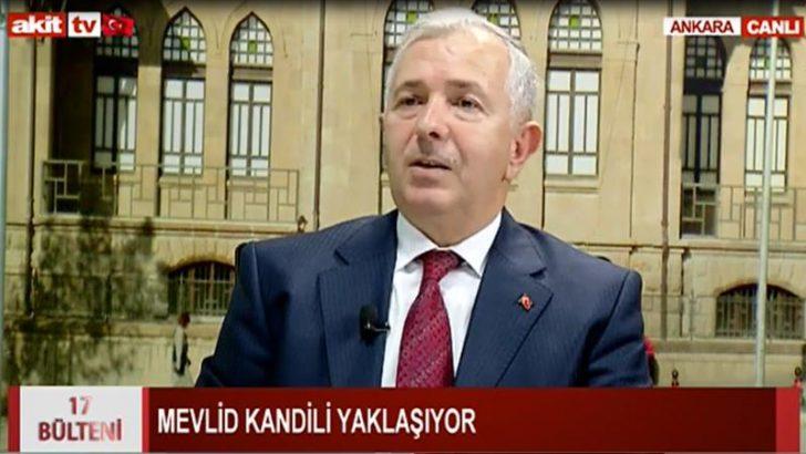 Ankara İl Müftüsü SÖNMEZOĞLU Akit TV'ye Canlı Yayın Konuğu Oldu