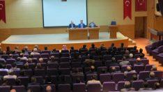 Başmüfettiş Mehmet Zeki Yılmaz, Seyhan ve Çukurova'da Din Görevlileri İle Biraraya Geldi