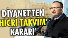 Diyanet'ten 'Hicri Takvim' kararı !