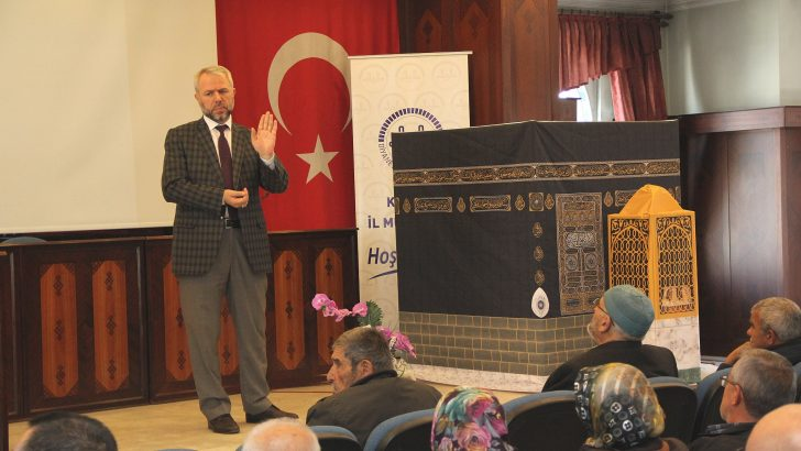 """2017-2018 YILI """"UMRE BİLGİLENDİRME VE EĞİTİM SEMİNERLERİ"""" BAŞLADI"""