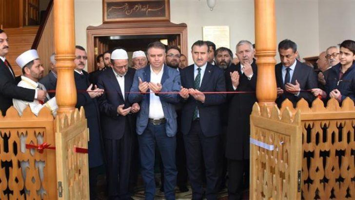 """Restorasyonu tamamlanan """"Şeyh İzzettin Mescidi"""" dualarla ibadete açıldı"""
