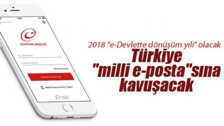 """Türkiye """"milli e-posta""""sına kavuşacak"""