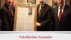 Diyanet-Sen'den , Bakan Çavuşoğlu'na Ziyaret