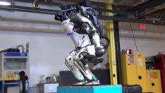 Atlas robotun parkurdaki marifetleri sporculara taş çıkartıyor