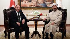 Başbakan Yardımcısı Akdağ'dan Diyanet'e ziyaret…