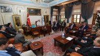 Diyanet İşleri Başkanı Erbaş'tan İstanbul Müftülüğü'ne ziyaret
