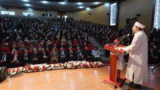 """Diyanet İşleri Başkanı Erbaş, """"Dini Referanslar Bağlamında Aile İçi Şiddete Çözüm Odaklı Bakış"""" başlıklı panele katıldı"""