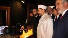 Diyanet Radyoları İstanbul Stüdyoları dualarla açıldı