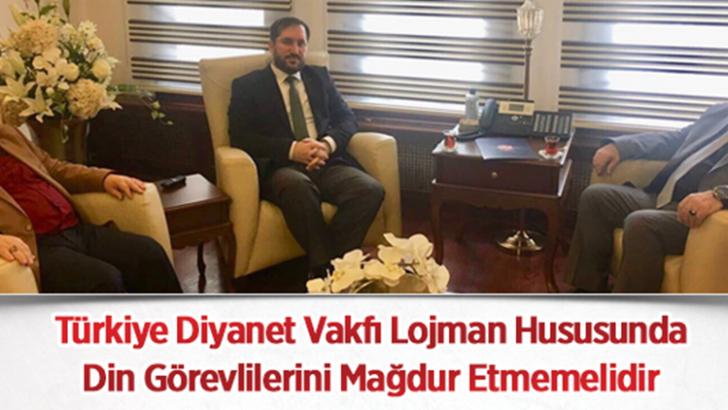 Türkiye Diyanet Vakfı Lojman Hususunda Din Görevlilerini Mağdur Etmemeli