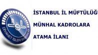 İstanbul Müftülüğü Sınav İlanı