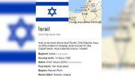 Google, Kudüs'ü İsrail'in başkenti olarak gösterdi.