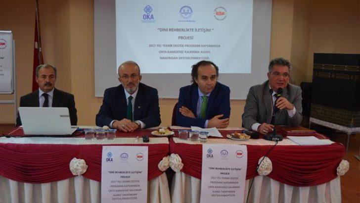 """Samsun'da """" Dini Rehberlikte İletişim"""" Projesi Başladı."""