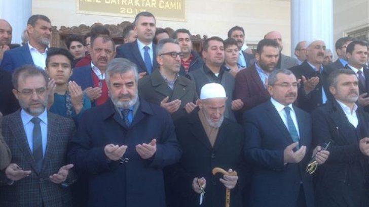 Sancaktepe Aziz Bayraktar Camii açıldı