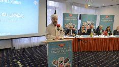 Diyanet İşleri Başkanı Erbaş, DİTİB 16. Olağan Genel Kurulu'na katıldı