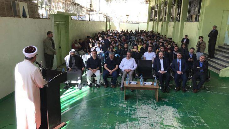 Diyanet İşleri Başkanı Erbaş, Medine Uluslararası Türk Okulunu ziyaret etti