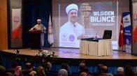 Diyanet İşleri Başkanı Erbaş, Muş Alparslan Üniversitesinde konferans verdi