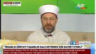 Erbaş, Azerbaycan Devlet Televizyonunda Önemli Açıklamalarda Bulundu