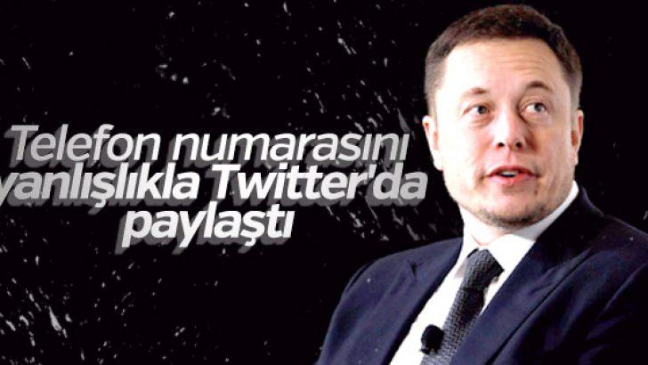 Elon Musk Twitter'da cep telefonu numarasını paylaştı!