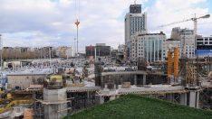 Taksim'e Yapılan Cami İnşaatı Hızla Devam Ediyor.