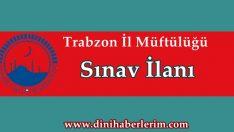 Trabzon Müftülüğü Münhal Kadro İlanı