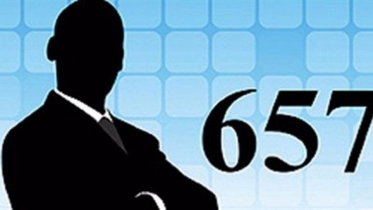 657 Devlet memurları Kanunu köklü şekilde değişecek.