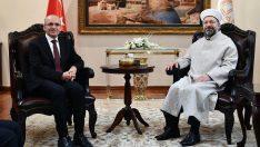 Başbakan Yardımcısı Şimşek'ten Diyanet'e ziyaret