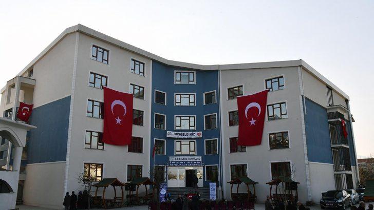 Diyanet İşleri Başkanı Erbaş, İmam-ı Azam Yatılı Hafızlık Kur'an Kursunu açtı
