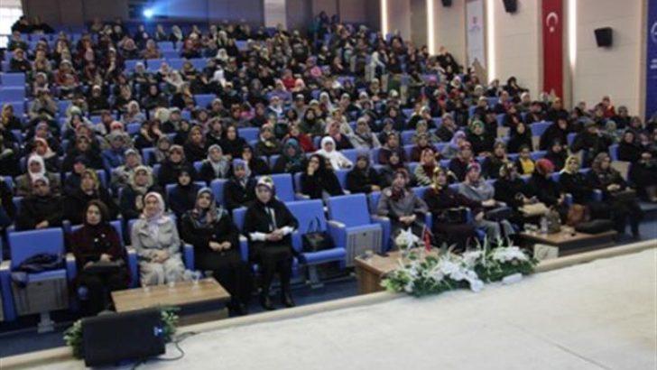 """Gaziantep İl Müftülüğü'nden """"Kaynana Gelin Hakları"""" Konulu Konferans"""