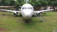 Tarlada bulunan Boeing 737'nin gizemi!