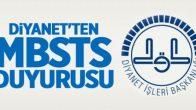 Diyanet , 2018 MBSTS Bilgilendirme Duyurusu