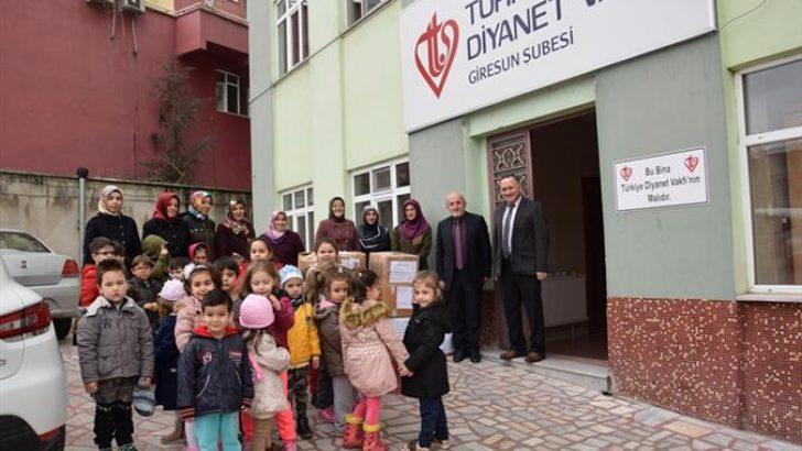 4-6 Yaş Kur'an Kursu Öğrencilerinden Mehmetçiğe Destek