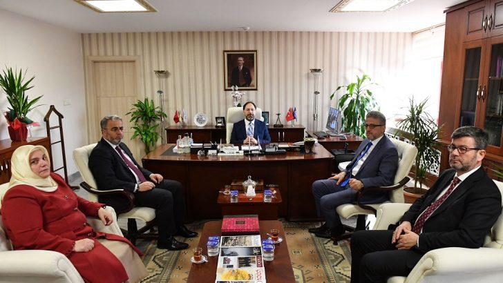 Diyanet İşleri Başkanı Ali Erbaş'tan Din Hizmetleri Genel Müdürlüğüne ziyaret