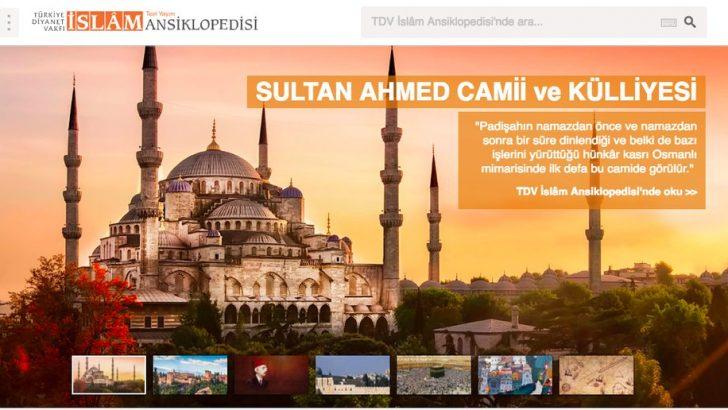 TDV İslâm Ansiklopedisi yeni yüzüyle yeni adresinde test yayınına başladı!