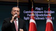 Flaş ! Cumhurbaşkanı Erdoğan Fahri Öğreticilerle İlgili 2. Talimatı Verdi !