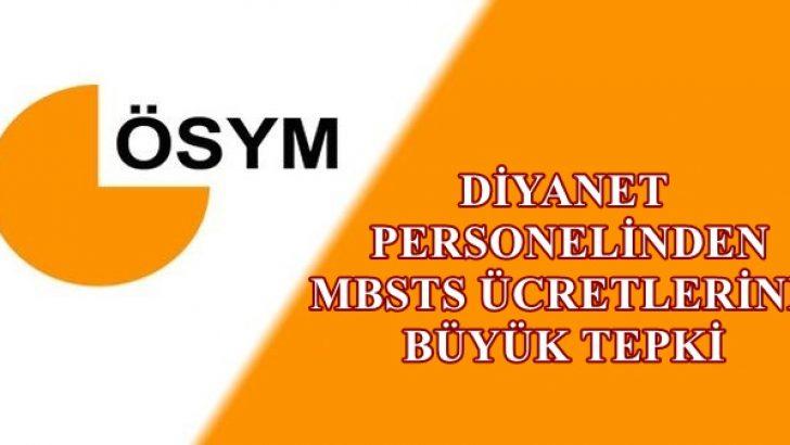 Diyanet Personelinden 2018 MBSTS Ücretlerine Büyük Tepki !
