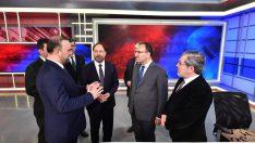 Başbakan Yardımcısı Bozdağ, Diyanet Tv ve Diyanet Radyo'yu ziyaret etti