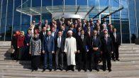 Başkan Erbaş, Başkanlığın üst düzey yöneticileriyle bir araya geldi