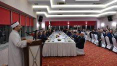 Diyanet İşleri Başkanı Erbaş, Hatay'da kanaat önderleri ile bir araya geldi