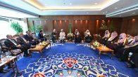 Diyanet İşleri Başkanı Erbaş, İslam İşleri, Davet ve İrşat Bakanı Al Şeyh ile bir araya geldi