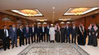 Erbaş, Suudi Arabistan Başmüftüsünü ziyaret etti