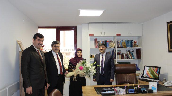 Hac ve Umre Eğitimi Daire Başkanı Esma ERTEN Görevine Başladı…