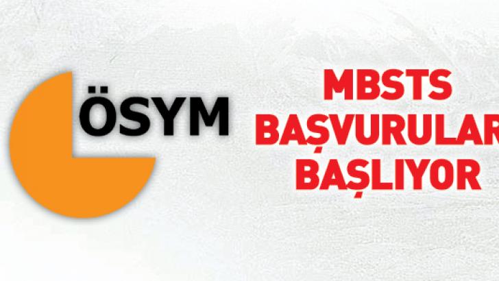MBSTS Başvuruları Başlıyor
